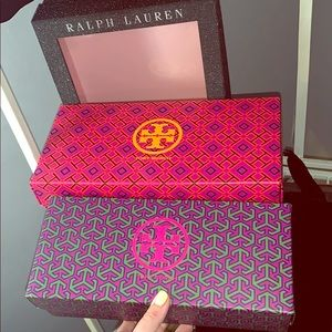 Tory Burch Other - TORY BURCH - Shoe Boxes (Pair)
